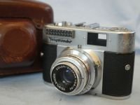 '  BL ' Voigtlander Vito BL Camera c/w Color Skopar 50MM F2.8 Lens -NICE- CASED £19.99